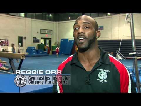 Elite Gymnast Pursues Dream at Harrison Park