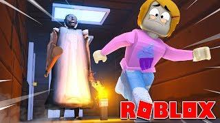 Roblox escape Granny Obby com Molly!