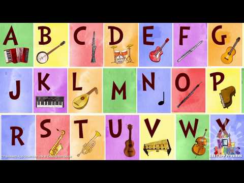 Jazzy ABC - Learn about music instruments and letters in a fun and interactive game!