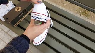 Кеды Converse (Конверс) унисекс размеры 35-45. Обзор от Аврорамаркет