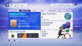 FIFA 19 EARLY SBC/PLAYING (PS4)