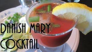 Three Simple Danish Mary Cocktail Recipes Using Aquavit
