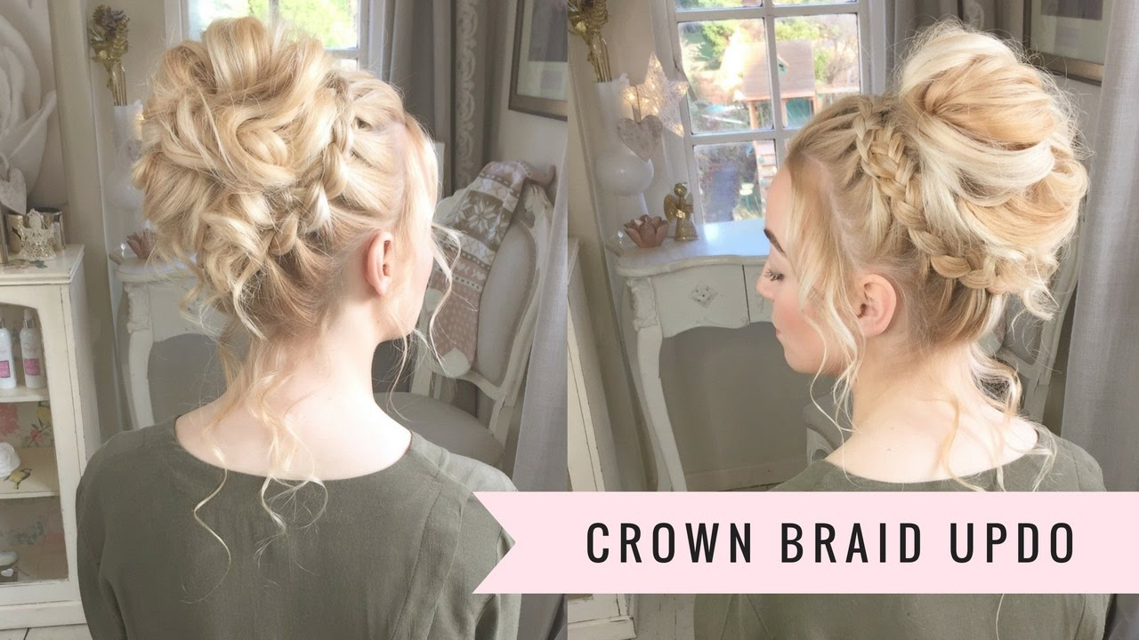 The Crown Braid UpDo By SweetHearts Hair TH VIDEO YouTube - Hairstyle design pictures