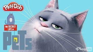 La Vida Secreta de tus Mascotas: Chloe de Plastilina Play Doh