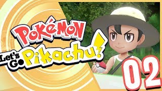 Pokémon Let's Go Pikachu! Episode 2 - Viridian City and Viridian Forest