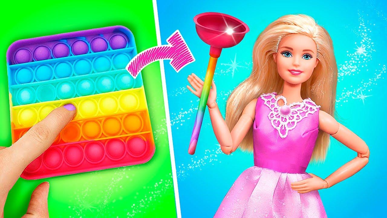 Objetos Hechos con Muñecas / 10 DIYs para LOL y Barbie