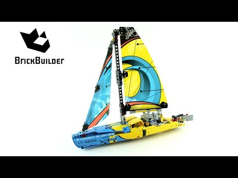technic racing yacht