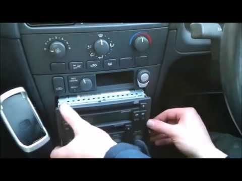 Enter Volvo V40 Radio Code Step By Step Procedure