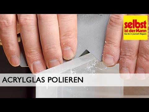 acrylglas polieren youtube