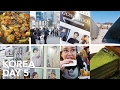 Edae, Protest?!, Street Food Tasting, SMtown Store, and More - Korea Day 5