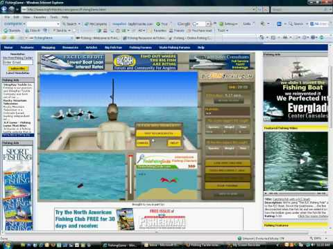 Big Fish Online Fishing Game Preview