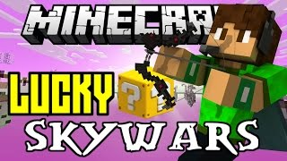 "LUCKY BLOCK SKYWARS | ""INSANELY CRAZY GAMES!"" 
