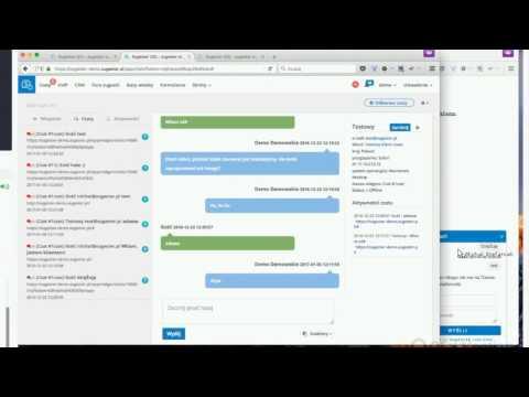 Sugester - Webinar - 5 stycznia 2017: forum sugestii, baza wiedzy, formularze, VoIP, live chat