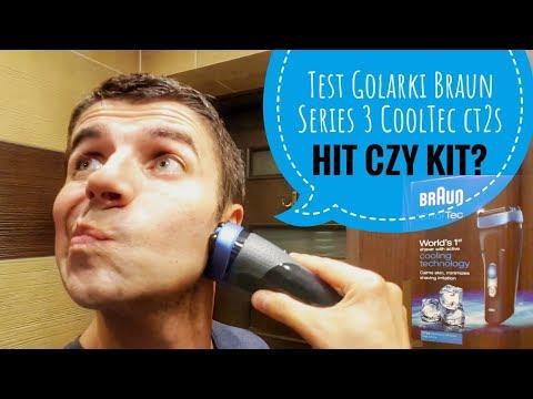 Braun Series 3 CoolTec golarka Recenzja - transmisja live