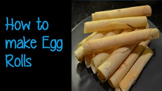 How to make Chinese Flaky egg roll biscuits (手工蛋卷)  |  Simon Lam
