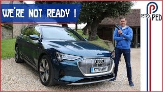Living with an EV for a week didn't go well !!! [AUDI e-tron]