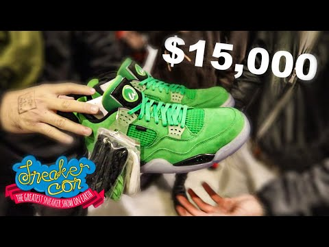 Spending $15k On MOST EXPENSIVE Shoes At SNEAKER CON Chicago