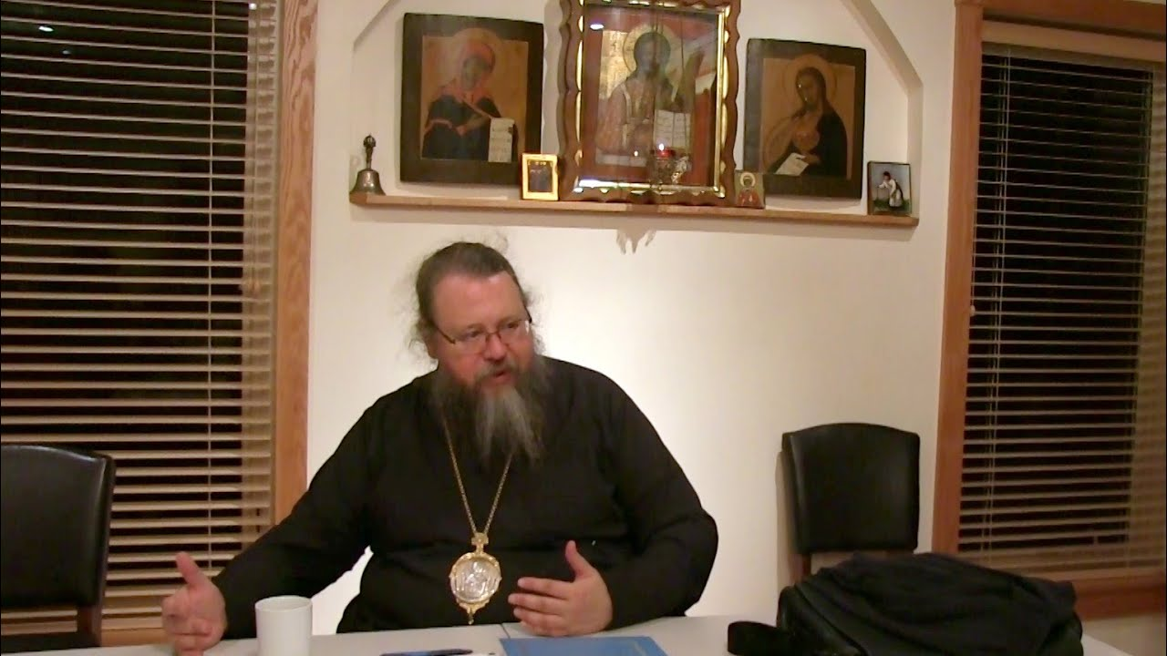2014.10.20. The Liturgical Life of the Orthodox Church. Part I, by Metropolitan Jonah (Paffhausen)