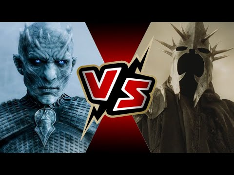 The Night King (GAME OF THRONES) VS The Witch King of Angmar (LORD OF THE RINGS) | BATTLE ARENA