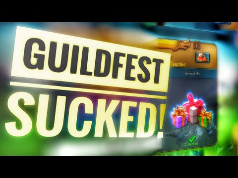 Lords Mobile - Guild Fest Is Getting Worse