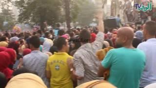 بالفيديو.. حفلات رقص شعبي في ميدان
