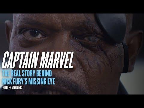 &39;Captain Marvel&39; spoiler: The story behind Nick Fury&39;s missing eye
