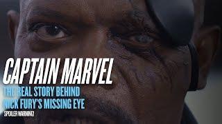 'Captain Marvel' spoiler: The story behind Nick Fury's missing eye