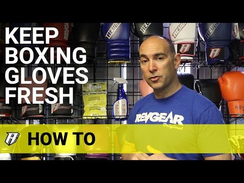 How To Keep Boxing Gloves Fresh