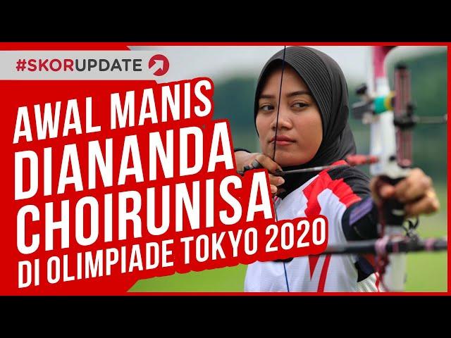 Awal Manis Diananda Choirunisa di Olimpiade Tokyo 2020