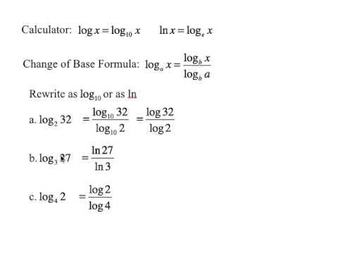 log rules and basic math - YouTube