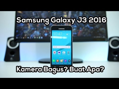 Unboxing & Review Samsung Galaxy J3 2016 Indonesia
