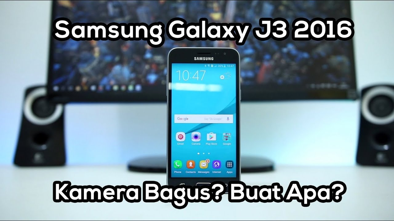 Unboxing & Review Samsung Galaxy J3 2016 Indonesia - YouTube