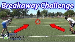 1 vs 1 Breakaway Soccer Challenge