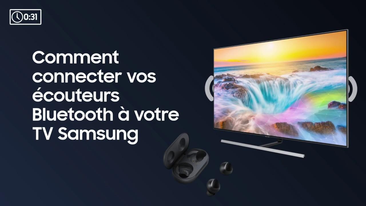 tv samsung et casque bluetooth