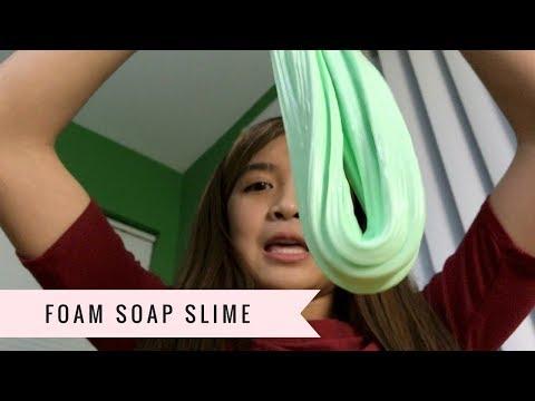 Isabelle's Foam Soap Slime DIY