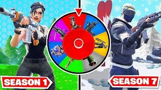 Spin the WHEEL of SEASONS *NEW* Game Mode In Fortnite