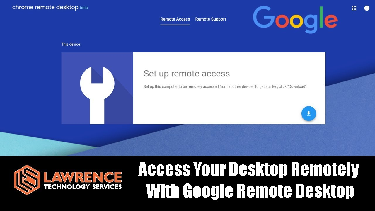 Access Your Desktop Remotely With Google Chrome Remote Desktop