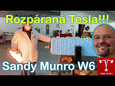 #178 Rozpáraná Tesla Model Y Sandy Munro W6 | Teslacek