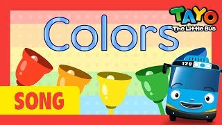 Learn Colors with Tayo the Little Bus l Color Song l Tayo the Little Bus