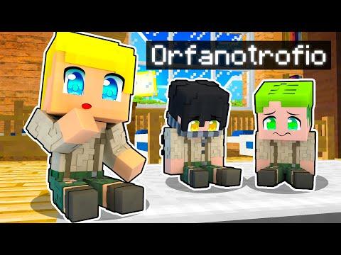 SBRISER VA IN ORFANOTROFIO Su Minecraft!