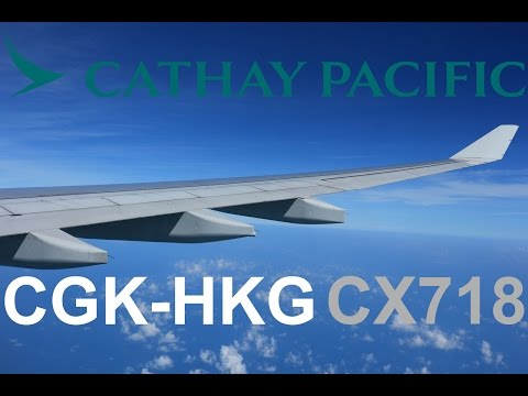 Cathay Pacific CX718 Economy Class Flight Experience