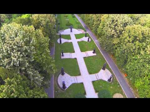 Parcul Memorial Constantin Stere - Bucov - Ploiesti -  Fotografie si filmare aeriana HD