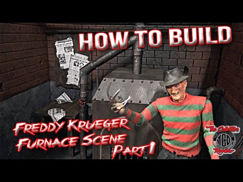 How To Build Freddy Krueger Furnace Scene Part 1 Diorama Tutorial thumbnail