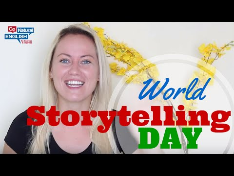 World Storytelling Day Fairy Tale to Learn English - Introduction