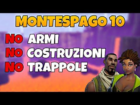 Montespago 10 di Abilità! NO Armi, NO Materiali, NO Trappole! | Fortnite - Salva il Mondo