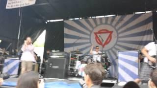 Enter Shikari - Sssnakepit, Warped Tour 2014 Scranton, PA