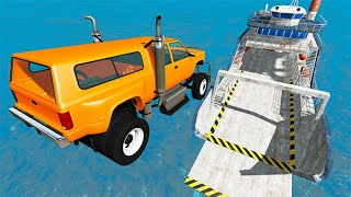Beamng drive - High Speed Random Car Jumps #86 | BeamNG-Destruction