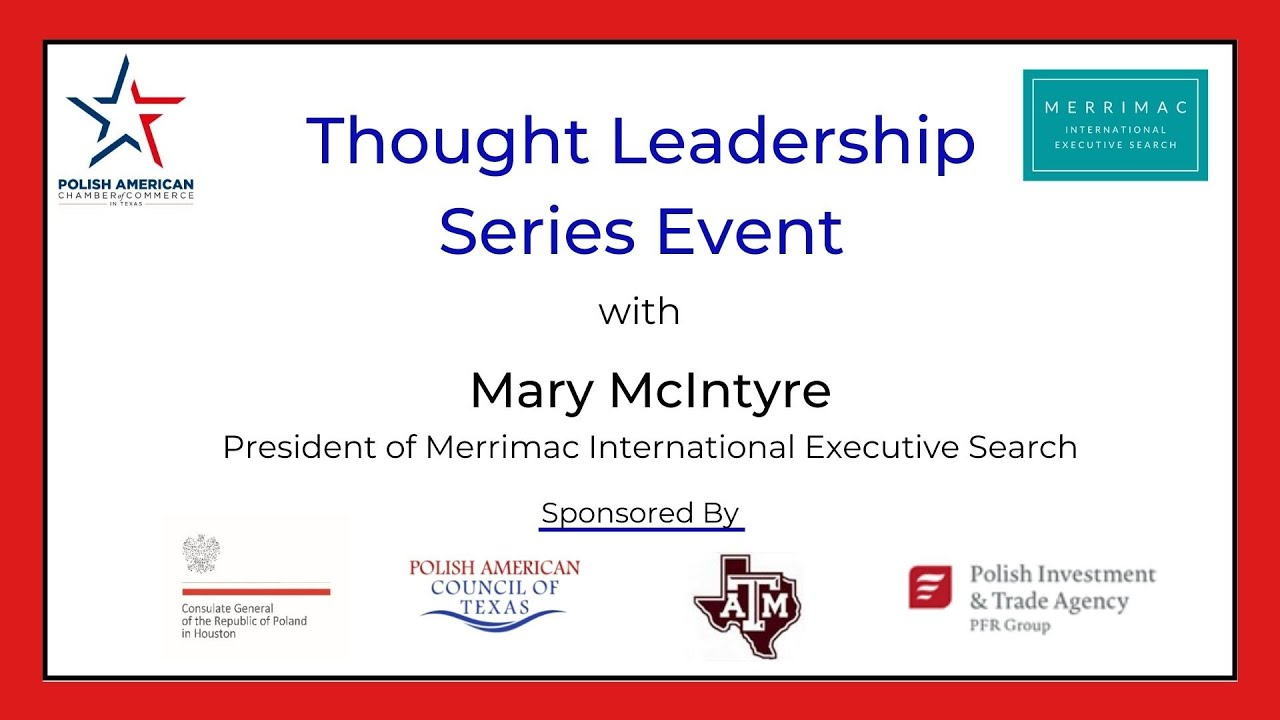 Thought Leadership Series Event