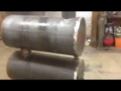 Heat Exchanger Barrel Stove Heat Exchanger