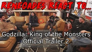 Renegades React to... Godzilla: King of the Monsters - Official Trailer 2